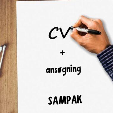 Sampak - CV og ansøgning - JS Jobsparring